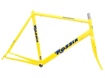 Rossin Performance Road Frameset Yellow