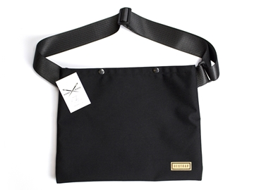 Picture of Restrap Musette Bag - Black