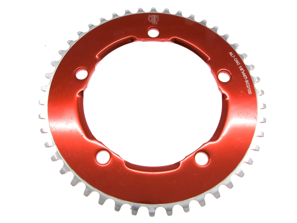 BLB Freestyle Chainring - Red