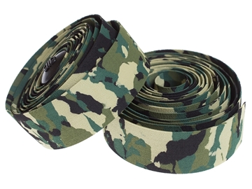 BLB Pro-Cork Bar Tape - Camo Green