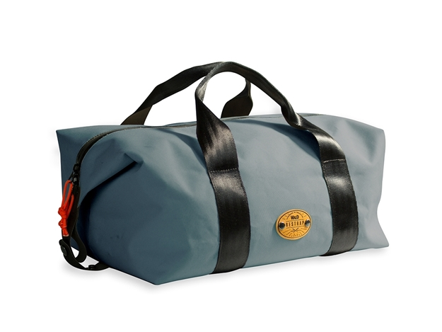 Picture of Restrap Wald Basket Bag - Medium - Grey