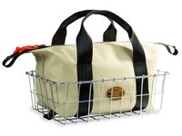 Picture of Restrap Wald Basket Bag - Medium - Sand