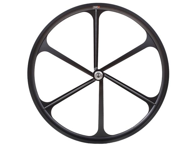 Teny 6 Spoke Rear Wheel - Black