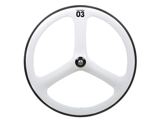 Picture of BLB Notorious 03 Full Carbon Front Wheel - White