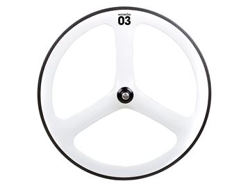 Picture of BLB Notorious 03 Full Carbon Rear Wheel - White