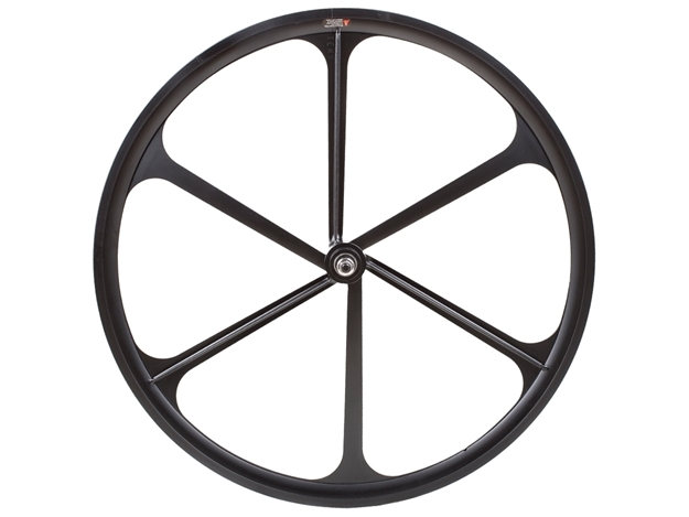 eny 6 Spoke Front Wheel - Black