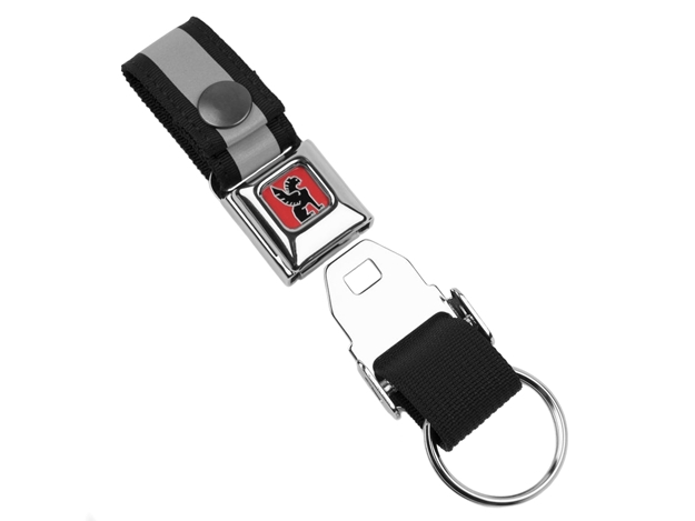 Picture of Chrome Mini Buckle Key Chain - Silver