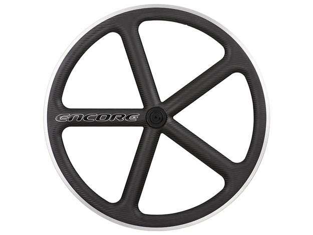 Picture of Encore Wheel - Matt Black MSW - Carbon Weave