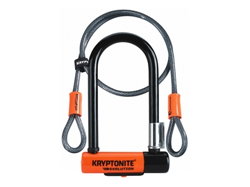 Picture of Kryptonite Evolution Mini-7 with cable
