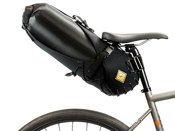 Restrap Carry Saddle & Dry bag (14L) - Black/Black