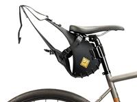 Restrap Carry Saddle & Dry bag (14L) - Black/Black