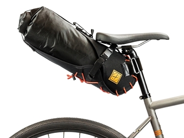 Restrap Carry Saddle & Dry bag (14L) - Black/Orange