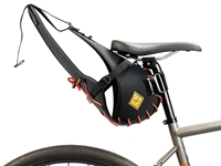 Restrap Carry Saddle & Dry bag (14L) - Black/Orange