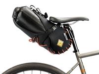 Restrap Carry Saddle & Dry bag (8L) Blk/Orange