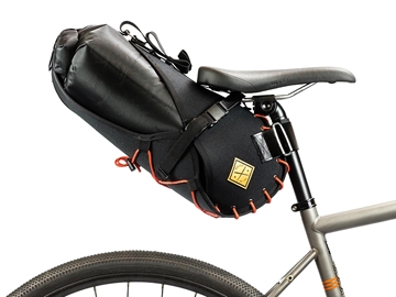 Restrap Carry Saddle & Dry bag (8L) Blk/Orange