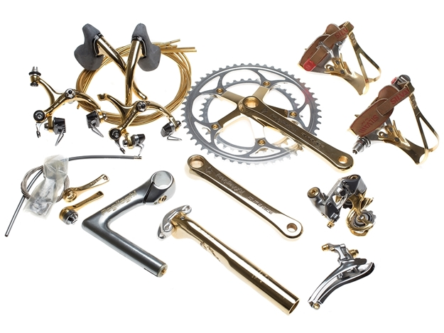 Picture of Shimano Dura-Ace Pogliaghi Pantographed Groupset