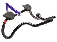 Picture of Aero Triathlon Handlebars - Black/Purple