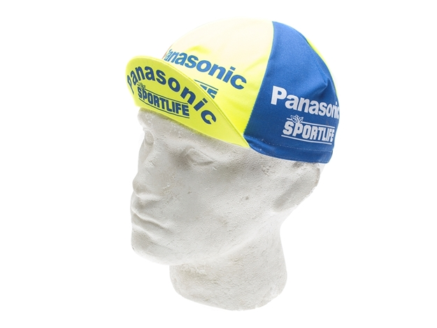 Picture of Vintage Cycling Caps - Panasonic Sportlife