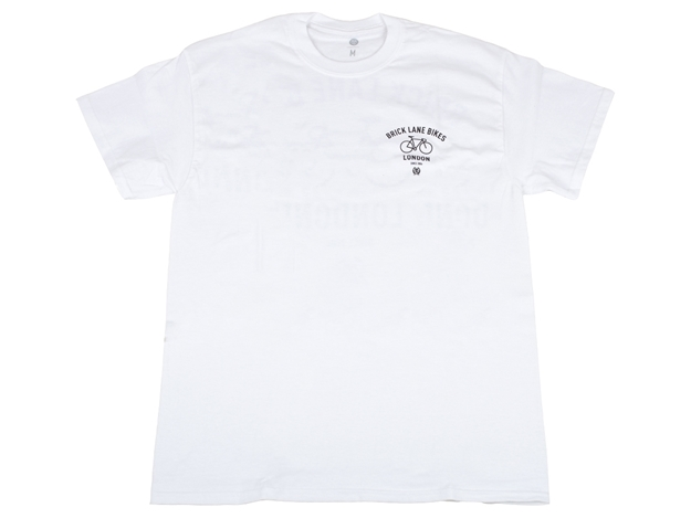 Picture of BLB Bike Tee - White