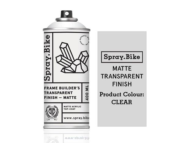 Spray.Bike Frame Builder's Transparent Varnish - Matt