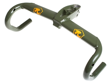 Picture of Cinelli Integralter Handlebars - Camo Green