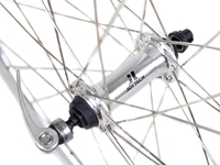 Picture of 6KU 8spd Road Wheelset (Cassette Fitting) - Silver