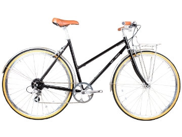 Picture of BLB Butterfly 8spd Town Bike - Black