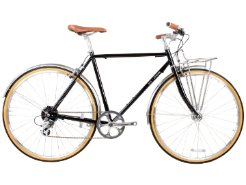 Picture of BLB Beetle 8spd Town Bike - Black