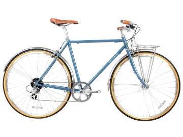 Picture of BLB Beetle 8spd Town Bike - Moss Blue