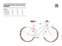 Picture of BLB Butterfly 8spd Town Bike - Dusty Pink