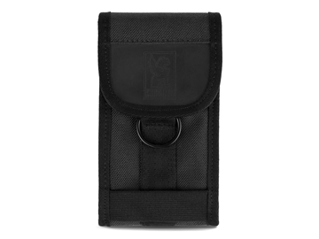 Picture of Chrome Phone Pouch - Black
