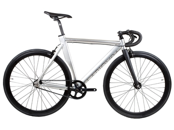Picture of BLB La Piovra ATK Fixie & Single Speed Bike - Polished Silver