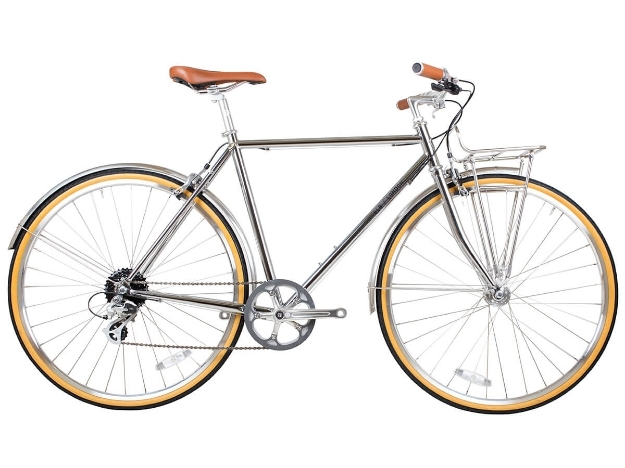 Picture of BLB Beetle 8spd Town Bike - Chrome