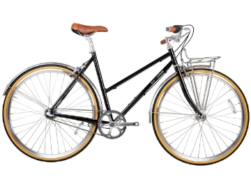 Picture of BLB Butterfly 3spd Town Bike - Black