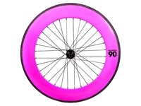 Picture of BLB Notorious 90 Rear Wheel - Pink/Black