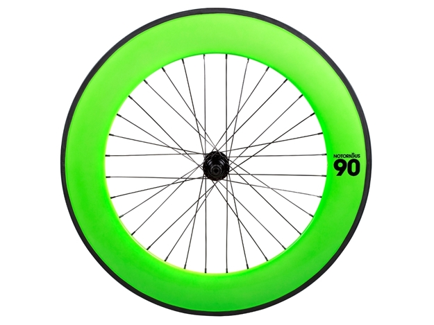 Picture of BLB Notorious 90 Rear Wheel - Green/Black