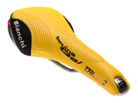 Picture of Selle Italia TRI matic 2 x Bianchi Saddle - Yellow
