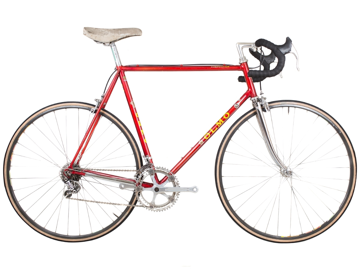 2 caps Handlebar Olmo racing bike original branded vitage cycling