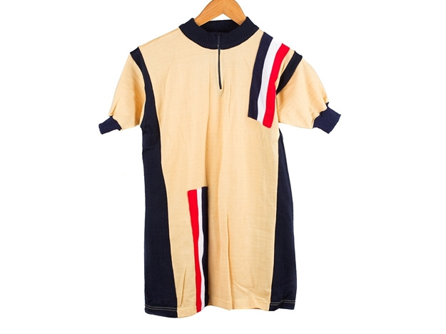 Picture of Sergal Cycling Jersey - Yellow/Blue
