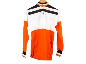 Picture of Sergal Cycling Jersey - Orange/White/Blue