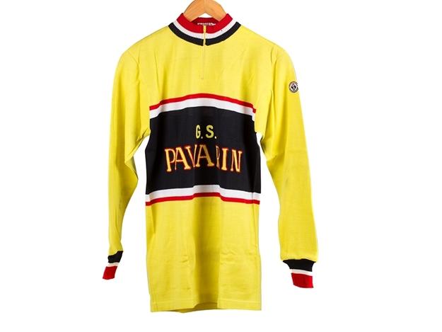 Pavarin Cycling Jersey - Yellow