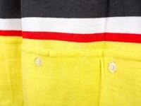 Pavarin Cycling Jersey - Yellow pockets