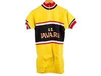 Pavarin Cycling Jersey - Yellow/Black