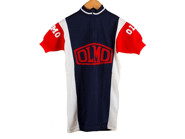 Picture of Olmo Cycling Jersey - White/Blue/Red