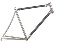 Picture of Titanio x Carbonio Road Frame - 53cm - Raw