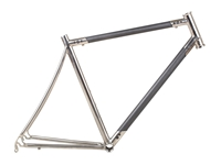 Picture of Titanio x Carbonio Road Frame - 50cm - Polished