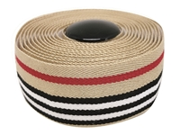Picture of BLB Supreme Pro Woven Bar Tape - Stripes Berry