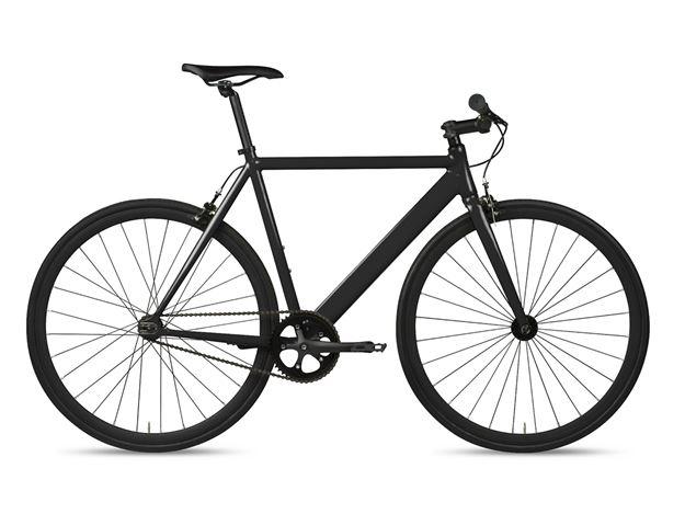 6KU Track Bike Black