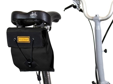 Picture of Restrap City Range Saddle Bag - Small - Black