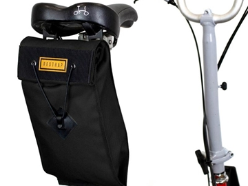 Picture of Restrap City Range Saddle Bag - Large - Black